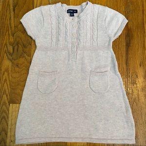babyGap Girls Short Sleeve Sweater Dress 6-12 M
